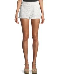 BCBGMAXAZRIA - Lace Pull-on Shorts - Lyst