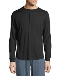 Unsimply Stitched - Men's Super Soft Henley Shirt - Lyst