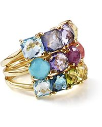 Ippolita | 18k Rock Candy Mixed-stone Cluster Ring In Summer Rainbow | Lyst