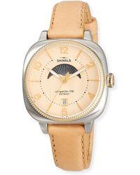 Shinola - 36mm Women's Gomelsky Moon Phase Watch - Lyst