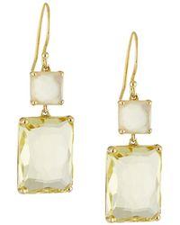 Ippolita - 18k Rock Candy® Snowman Earrings In Citrine - Lyst