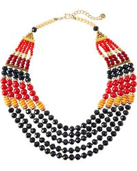 Nakamol - Mixed Multi-strand Beaded Necklace - Lyst