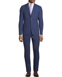 Neiman Marcus - Slim-fit Two-piece Pinstriped Wool Suit - Lyst