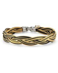 Alor - Braided Stainless Steel Micro-cable Bracelet - Lyst