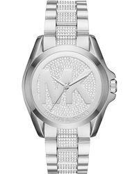 MICHAEL Michael Kors - 43mm Jet Set Crystal Bracelet Watch - Lyst