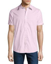 Ben Sherman - Men's End-on-end Short-sleeve Sport Shirt - Lyst