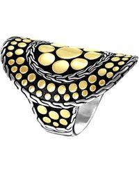 John Hardy - Dot Nuansa Curved Ring Size 7 - Lyst