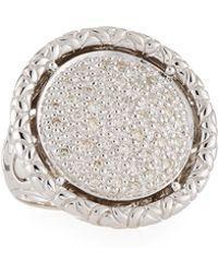 John Hardy - Naga Round Diamond Ring - Lyst