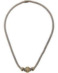 John Hardy - Three-bead Dot Chain Necklace - Lyst