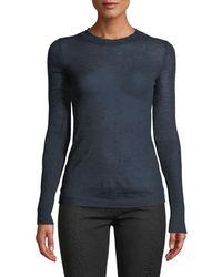 Leon Max - Wool-blend Lightweight Long-sleeve Sweater - Lyst