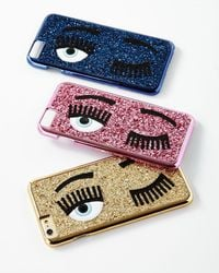 Chiara Ferragni - Winking Eye Glitter Iphone® 7 Case - Lyst
