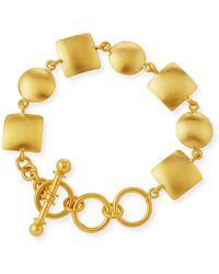 Dina Mackney - Geo Link Bracelet - Lyst