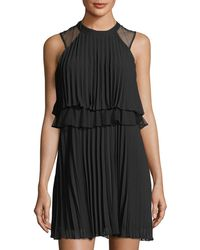 BCBGeneration - Sleeveless Layered Dress - Lyst