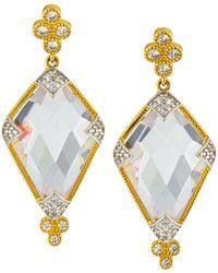 Freida Rothman - Visionary Fusion Large Stone Earrings - Lyst