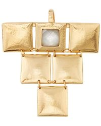 Stephanie Kantis | Mother Of Pearl Mini Flapper Pendant | Lyst
