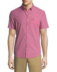 Original Penguin - Jaspe Short-sleeve Oxford Shirt - Lyst