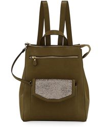 Neiman Marcus - Jamiee Faux-leather Backpack - Lyst