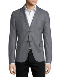 Gucci - Textured Dot-print Sport Coat - Lyst