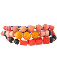 Nakamol - Mixed Beaded Bracelets - Lyst