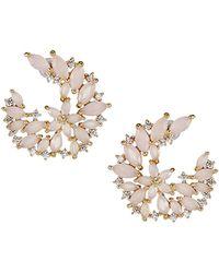 Serefina Dewy Crystal Vine Earrings