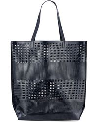 Neiman Marcus - Perforated Tote/beach Bag - Lyst