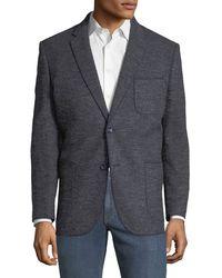 1 Like No Other - Men's Jax Marrow-stitched Boucle Blazer - Lyst