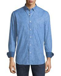 Bugatchi - Classic-fit Faded Sport Shirt - Lyst