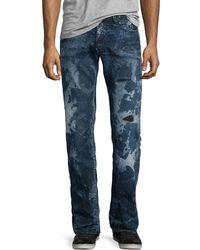 PRPS - Barracuda Distressed & Bleached Denim Jeans - Lyst