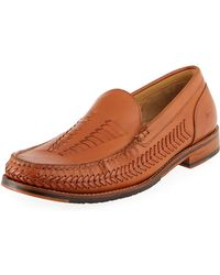 Tommy Bahama - Men's Hasslington Braided Leather Slip-on - Lyst