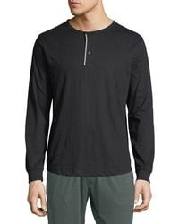 Unsimply Stitched - Men's Lounge Henley Shirt - Lyst