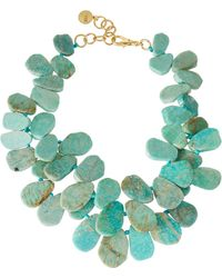 Nest - Signature Cluster Necklace Amazonite - Lyst