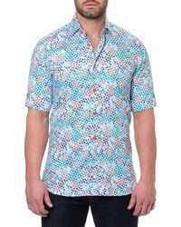 Maceoo - Men's Fresh Circus Short-sleeve Sport Shirt - Lyst