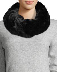 Neiman Marcus - Faux-fur Cowl Collar - Lyst