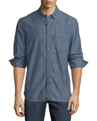 Joe's Jeans - Men's Sandoval Chambray Sport Shirt - Lyst