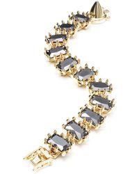 Eddie Borgo - Small Rectangle Estate Bracelet - Lyst