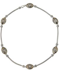 John Hardy - Jaisalmer 18k Gold & Sterling Silver Sautoir Necklace - Lyst