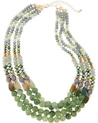 Lydell NYC - Multi-strand Bead Necklace - Lyst