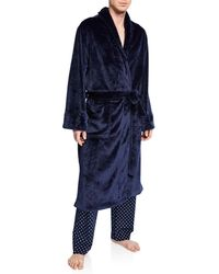 Neiman Marcus - Men's Plush Fleece Robe - Lyst