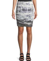 XCVI - Tammy Tie-dye Wash Skirt - Lyst