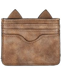 Neiman Marcus - Cat Ears Small Card Case - Lyst