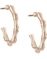 Alex Woo - Zhuli 14k Rose Gold Small Hoop Earrings - Lyst