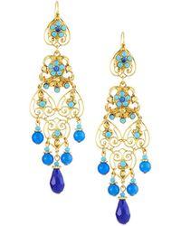 Jose & Maria Barrera - Long Filigree Earrings - Lyst