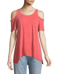 Lamade | Jana Cold-shoulder Tee | Lyst