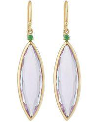 Ippolita - 18k Prisma Single Stone Linear Earrings - Lyst