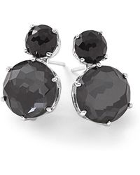 Ippolita | Rock Candy® Two-stone Earrings In Onyx And Hematite | Lyst