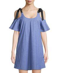 Soul Harmony Energy - Cold-shoulder Swing Dress - Lyst