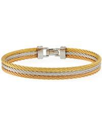 Alor - Tricolor Three-row Bracelet - Lyst