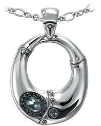John Hardy - Bamboo Gemstone Pendant Necklace - Lyst