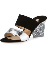 Edie Parker - Theodora Two-band Sandal - Lyst