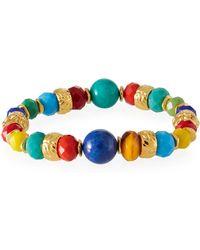 Jose & Maria Barrera - Stretch Bracelet W/ Glass Beads - Lyst